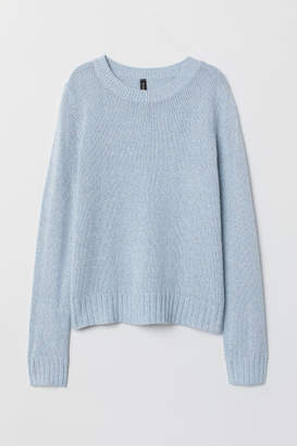 H&M Knit Sweater - Turquoise
