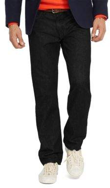 Polo Ralph Lauren Straight-Fit Hudson Black Jeans