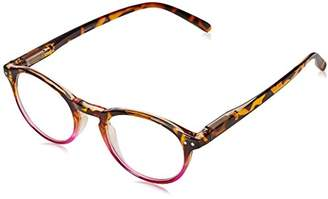 Peepers Unisex-Adult Book Club 933125 Round Reading Glasses