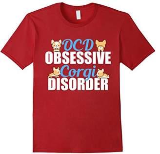 Corgi Obsessive Disorder Funny T-Shirt