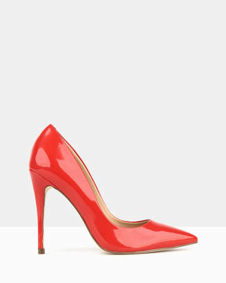 betts Blossom Red Stiletto Heels