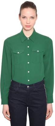 Calvin Klein Twill Shirt With Pockets