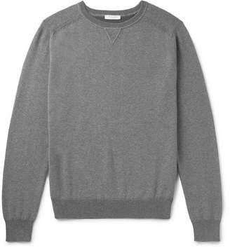 Boglioli Cotton And Cashmere-Blend Sweater