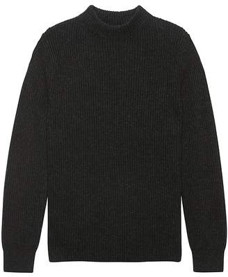 Banana Republic Ribbed Mock-Neck Sweater