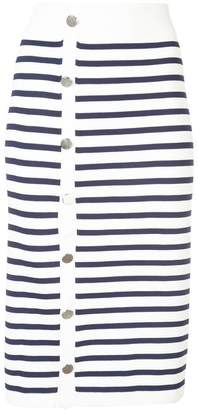 Altuzarra Enya striped skirt