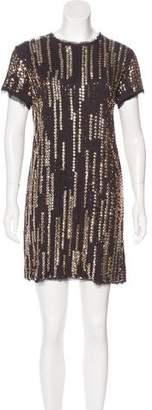 Lanvin Sequined Mini Dress