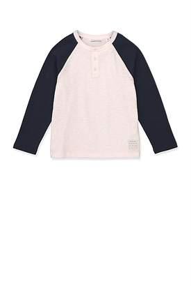 Country Road Henley Baseball T-Shirt