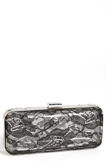 Betsey Johnson Lace Minaudiere