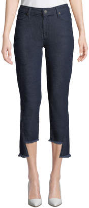 Parker Smith Mid-Rise Step-Hem Flare Jeans