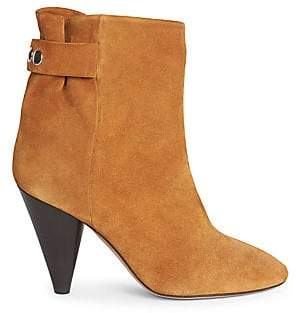 Isabel Marant Women's Lystal Suede Ankle Boots