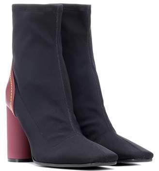 Ellery Neoprene ankle boots