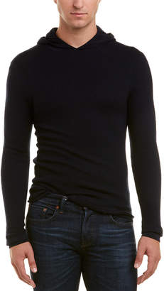 Vince Double Layer Wool Crewneck Sweater