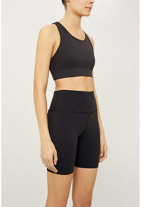 Varley Louise stretch-jersey shorts