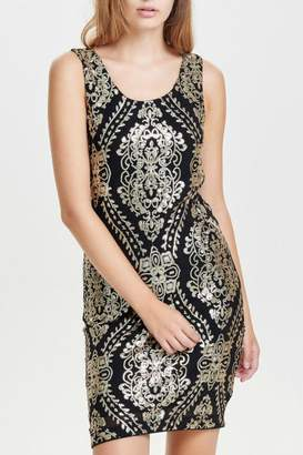 Only One Amber Sequin Dress