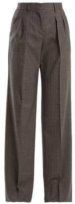 Max Mara Arona Trousers - Womens - Grey Stripe
