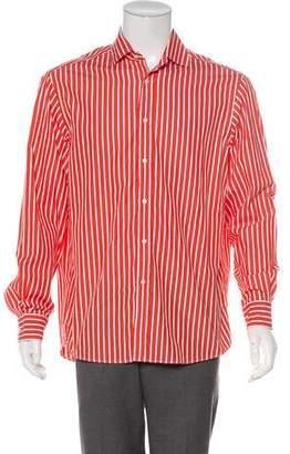 Ralph Lauren Purple Label Striped Woven Shirt