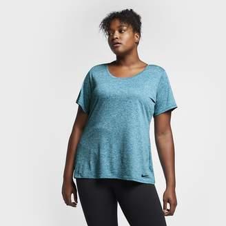 Nike Dri-FIT Legend (Plus Size) Women's Short Sleeve Training Top