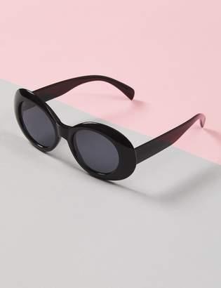 Lane Bryant Black Mod Sunglasses