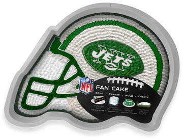 Bed Bath & Beyond Fan Cake NFL Silicone Cake Pan - New York Jets