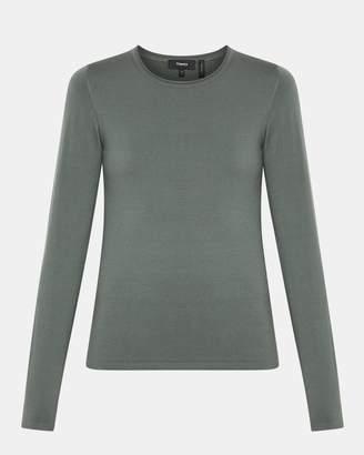 Theory Wool Slim-Fit Crewneck Sweater