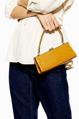 Topshop FRANKIE Yellow Frame Mini Bag