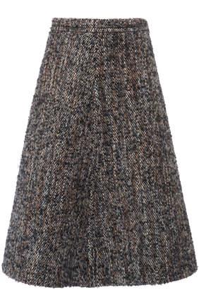 Miu Miu Bouclé-Tweed Skirt Size: 40