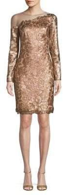 Tadashi Shoji Sequin Embellished Sheath Dress