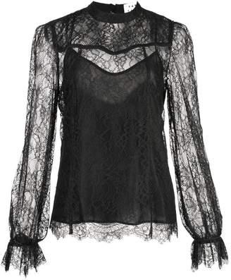 Tanya Taylor Lois long sleeved blouse