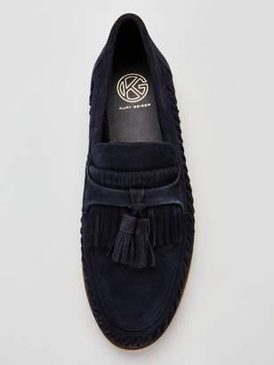 c8a16a4b28b Kurt Geiger Fringe Tassle Woven Loafer