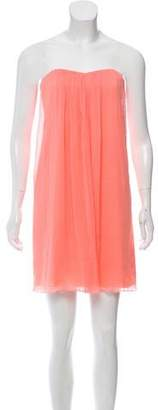 Alice + Olivia Strapless Cutout Dress w/ Tags