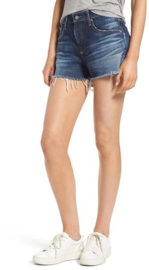 AG JeansWomen's Ag Bryn High Rise Cutoff Denim Shorts