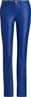 Ralph Lauren 400 Leather Skinny Jean