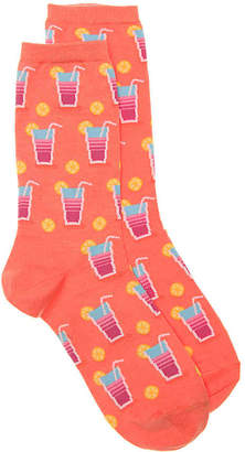 Hot Sox Lemonade Crew Socks - Women's