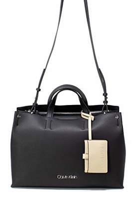 Calvin Klein Jeans Calvin Klein Borsa Donna K604816 TACK Tote Nero 3ba650a5829