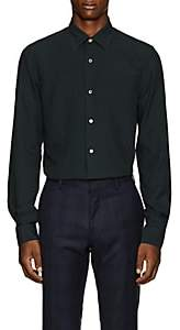 Paul Smith Men's Kensington Plaid Plain-Weave Shirt - Green