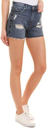 Hudson Jeans Sade Topaz Lace-Up Short