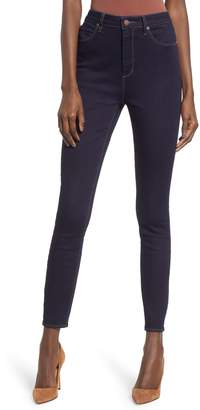 Leith Super High Waist Skinny Jeans