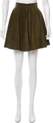 Apiece Apart Suede Mini Skirt
