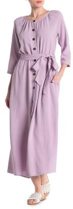 MelloDay 3\u002F4 Length Sleeve Dress