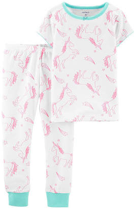 Carter's 2-pc. Pant Pajama Set Girls