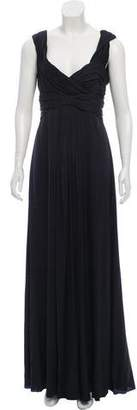 Armani Collezioni Sleeveless Silk Dress