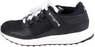 1c54ed85da Mastermind Japan Black Leather Trainers