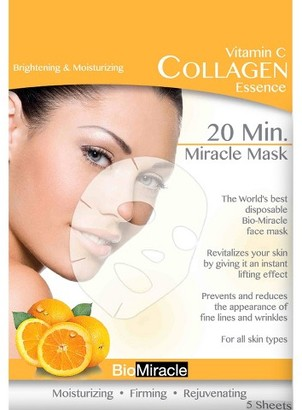 BioMiracle Collagen Essence Miracle Mask Sheets - Vitamin C - 5ct $9.99 thestylecure.com