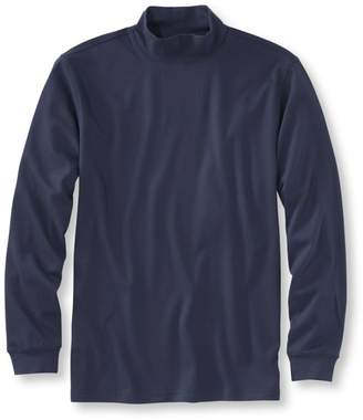 L.L. Bean L.L.Bean Men's Interlock Mock-Turtleneck, Traditional Fit