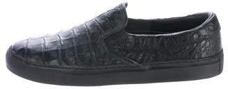 Diemme Garda Crocodile Slip-On Sneakers w/ Tags