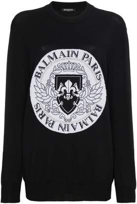 Balmain Emblem Jumper