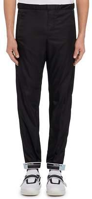 Prada Men's Rubber Cuff Jogger Pants