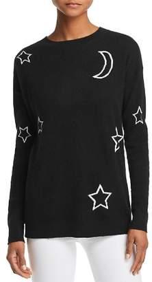 Aqua Moon & Stars Cashmere Sweater - 100% Exclusive