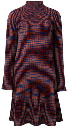 M Missoni longsleeved knitted dress