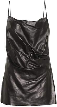 Gucci Leather minidress